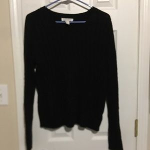 Black knit forever 21 sweater